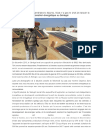 A quand la transition énergétique au Sénégal?