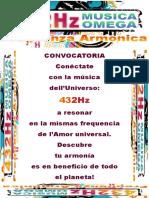 Manifesto 432hz Spagna