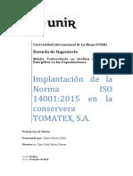 Ejemplo de Implementación de La ISO
