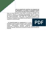 Formacion Basada en Competencias segun Sergio Tobon