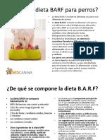 Qué Es La Dieta BARF Para Perros