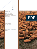 Produccion de Cacao
