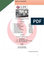 Informe de laboratorio hidraulica