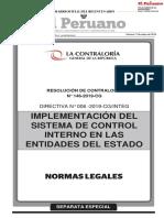 Directiva de Control Interno - Resaltado Set 2019
