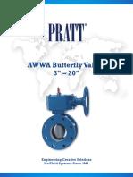 3-20 Inch AWWA BFV Brochure Form 13086