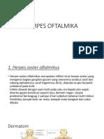 Herpes Oftalmika
