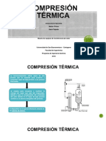 Compresión térmica