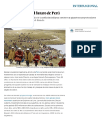 Una mina decide el futuro de Perú | Internacional | EL PAÍS