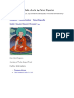 A Meditação Que Auto-Libera (Self-Liberating Meditation) by Patrul Rinpoche - Eng & Port. -37 Pgs.doc · Versão 1