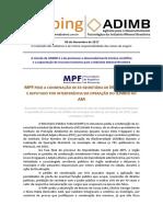 CLIPPING - ADIMB - AGÊNCIA PARA O DESENVOLVIMENTO TECNOLÓGICO DA INDUSTRIA MINERAL BRASILEIRA