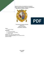 Informe de Antocianinas y Betalainas