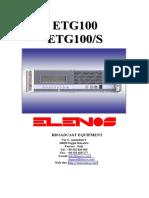 Elenos ETG 100
