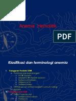 2.2.2.1 Anemia Hemolitik & Anemia Pasca Perdarahan