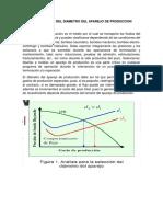 4.1 Determinacion Del Diametro Del Aparejo de Produccion