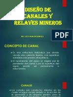 4. DISEÑO DE CANALES Y RELAVES DE MINA.pptx