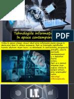 Tehnooogiile informaționale