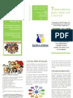 folleto sociales