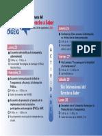 Calendario de La Semana Del Derecho a Saber 2019