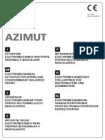 AZIMUT V2 Motor Puerta Garaje