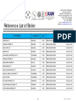 1. Ref List of Boiler - PT. Grand Kartech Tbk
