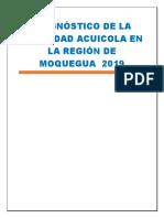 Diagnóstico de La Actividad Acuicola en La Región de Moquegua 2019