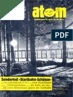 Atom - Sonderausgabe 18 Januar 1988