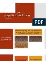 Fundamentos prepolíticos del Estado