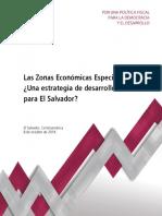 ZEE Una Estrategia de Desarrollo Para El Salvador