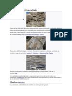 Estructura sedimentaria