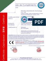 Certificado en Español Zyx45