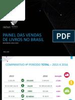 Painel de Vendas Do Livro No Brasil Maio 2016
