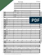 Sea Lady - Study Score
