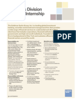 Securities - Summer Internship JD - M&S