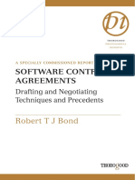 Robert Bond - Software Contract Agreements_ Negotiating and Drafting Tactics and Techniques (Thorogood Reports) (2004)