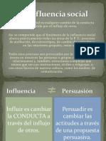 5 La Influencia Social