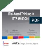 risk based thinking in iatf 16949.pdf