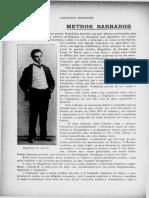 João Ribeiro. Metros Bárbaros