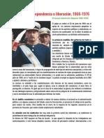 6) Dependencia o Liberacion Romero (1966-1976)