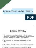 Design River Intake Tower