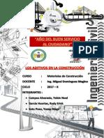 TIG 2-ADITIVOS Materiales de Construcción