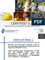 Bsc. Certitest - Caso Real. Certitest