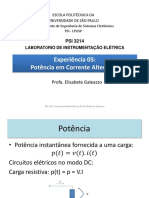 POWER POINT PSI3214 Fator de Potencia Versao 2017 Corrigido Wattimetro