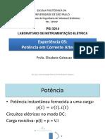 POWER POINT PSI3214 Fator de Potencia Versao 2017 Corrigido Wattimetro