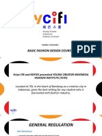Ycifi - Trainee Guidelines Basic Fashion Design Course