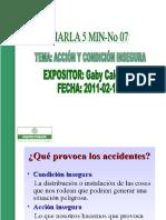 CHARLA 5 MIN ( FEBRERO-3-2012).ppt