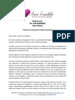 Joe Dispenza - Divine Love -  Amor Divino Traducción en Español.docx