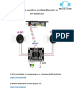 Diagrama Bluetooth y Amp