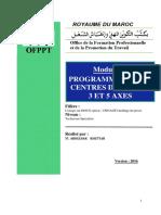 Programmation Des Centres D_usinage 3 Et 5 Axes