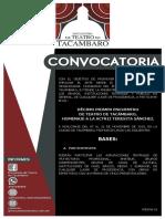 Convocatoria 2019 - Encuentro de Teatro de Tacámbaro