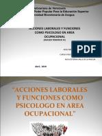 Laminas Para Video Exposicion Psicologia Salud Ocupacional